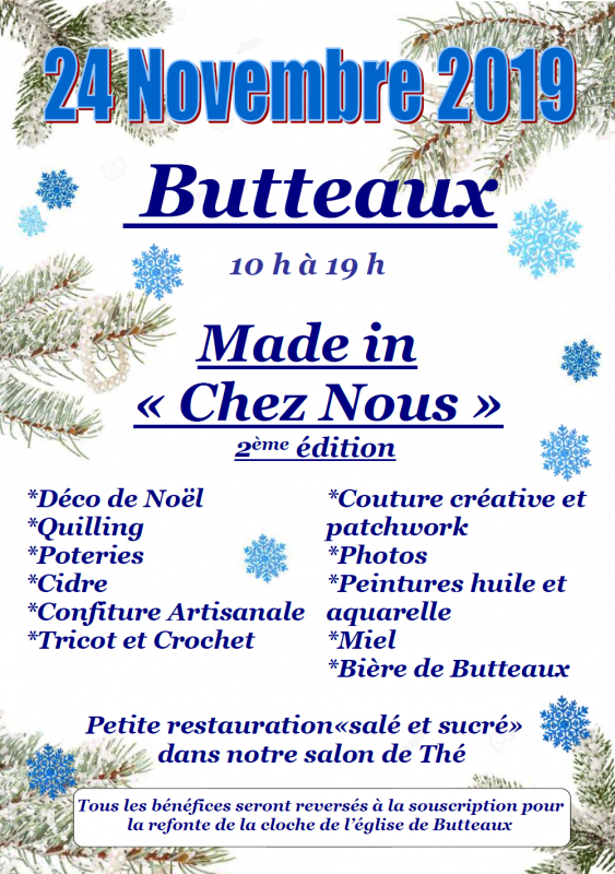 Affiche Made in chez nous